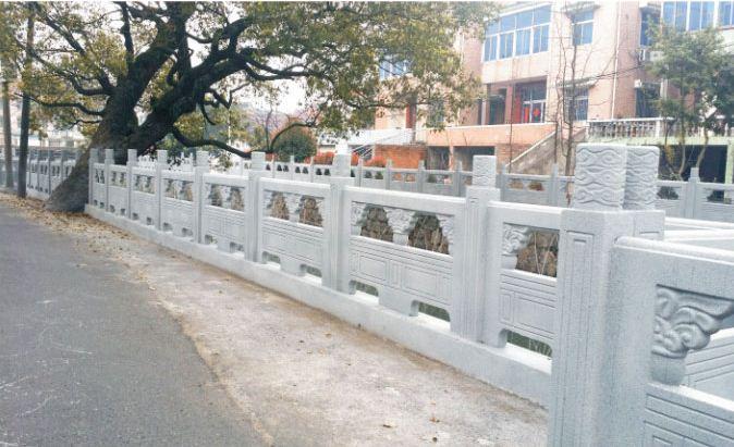 仿石护栏的设计要求