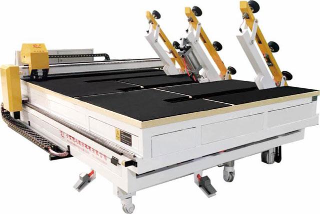 3826型全自动玻璃切割机上片一体机