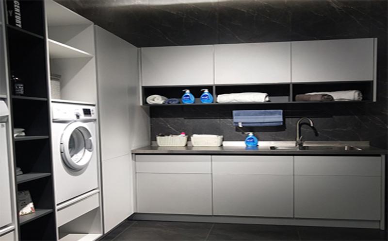 不锈钢洗衣柜-5