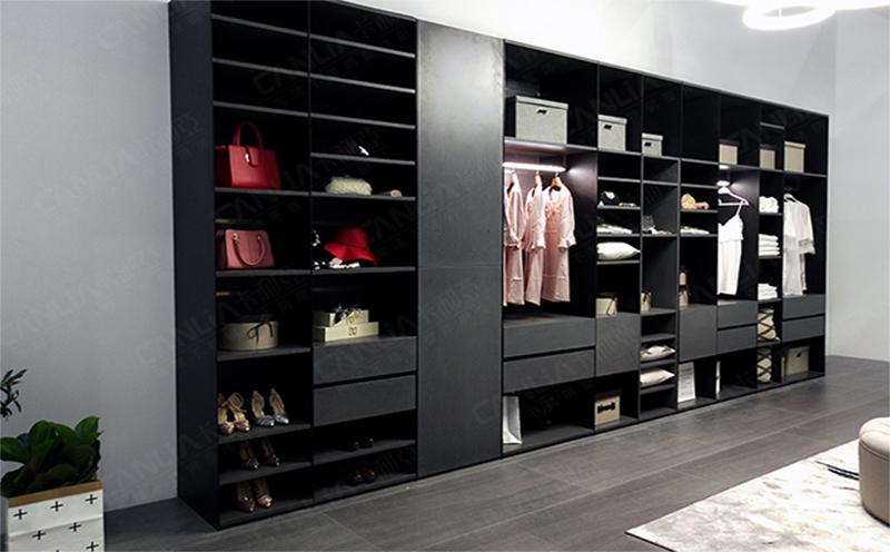 不锈钢智能衣柜-1