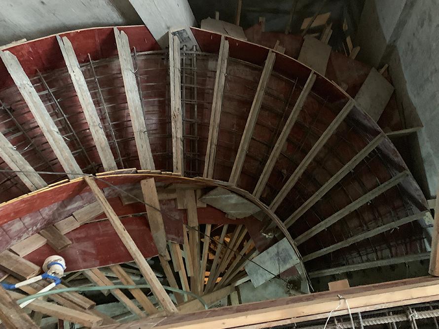 紫泉枫丹现浇楼梯