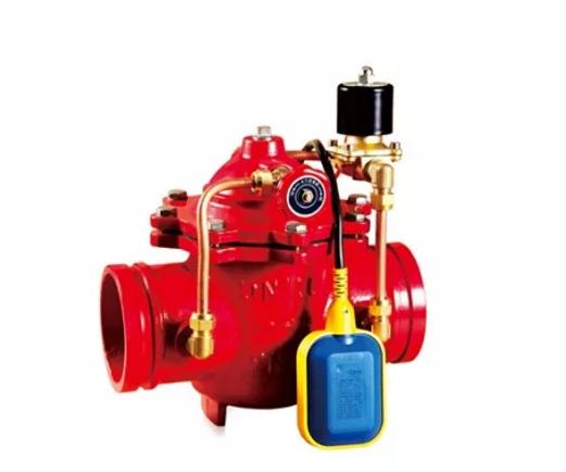 沟槽水力电动浮球阀