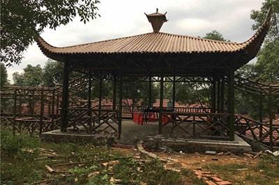 安徽竹长廊图片