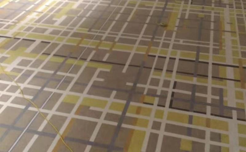 售楼部办公地毯铺设