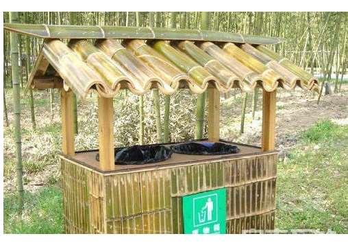 一种竹篱笆的制作方法介绍