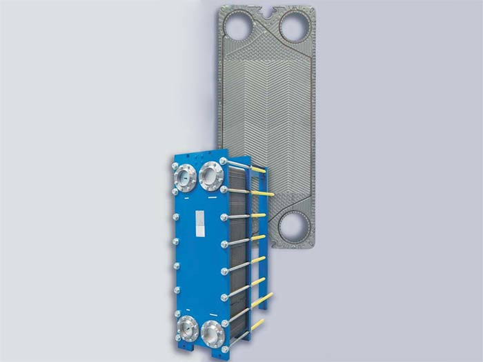 半焊板式换热器