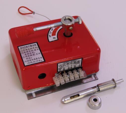 排烟防火阀执行机构是自动控制系统的重要组成部分