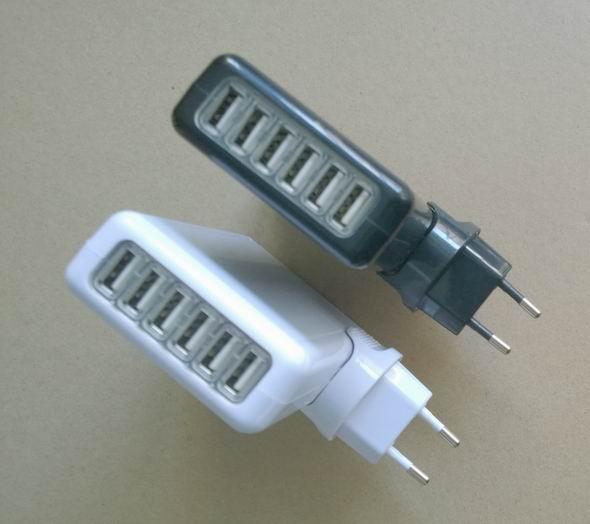 6个USB充电器