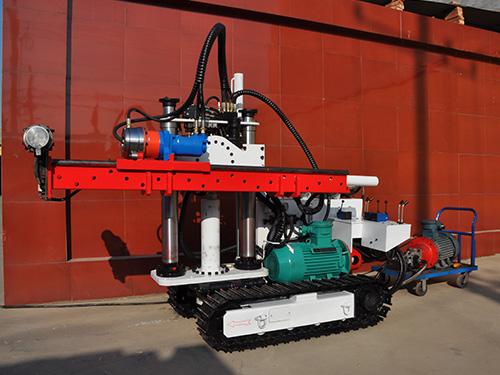 煤矿用履带式液压钻机操作规程