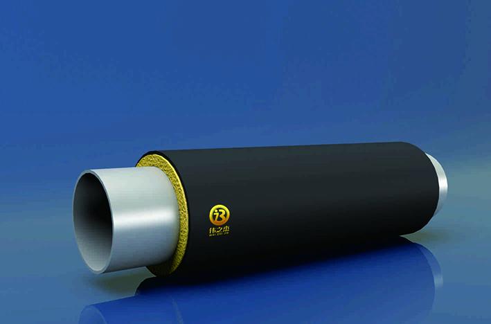 PE-RTII型塑套塑预制聚氨酯热水保温管