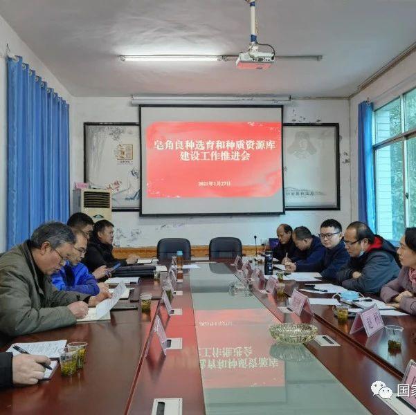 贵州省皂角良种选育和种质资源库建设项目推进会在织金召开