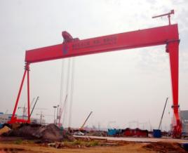 中國機械800t造船龍門起重機