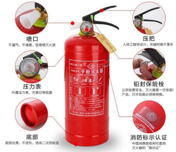 常用消防设备的使用方法一览
