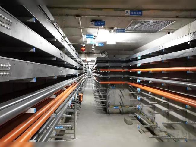 青岛西海岸地下综合管廊项目