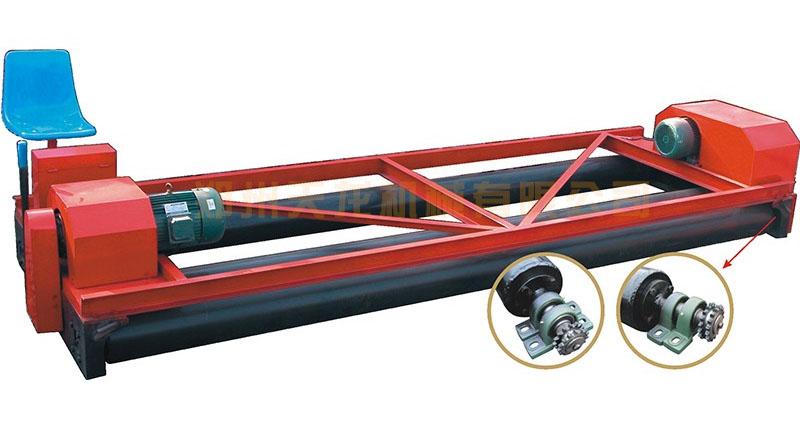 混凝土摊铺机(三辊轴)的施工优点和施工原理详解
