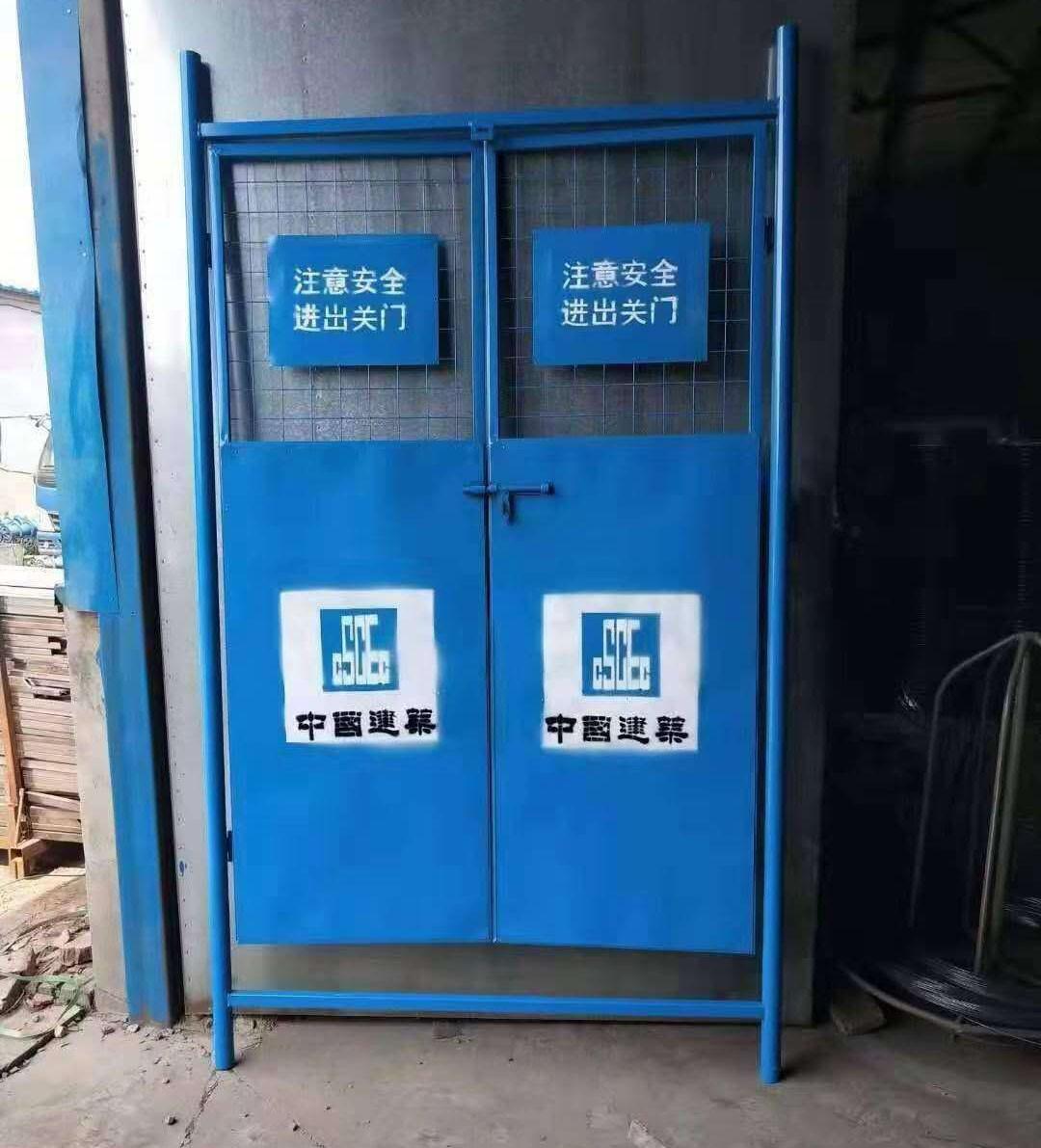 中建蓝外框电梯门
