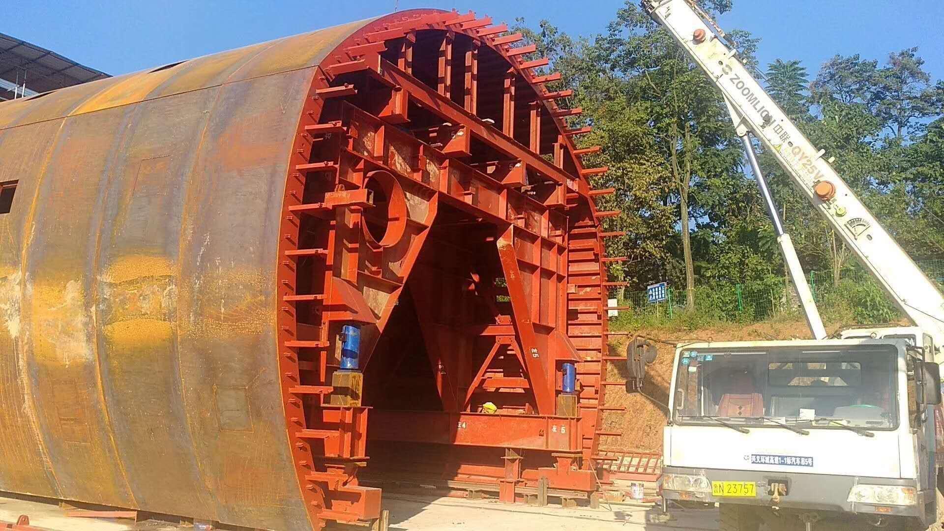 隧道台车的安装步骤