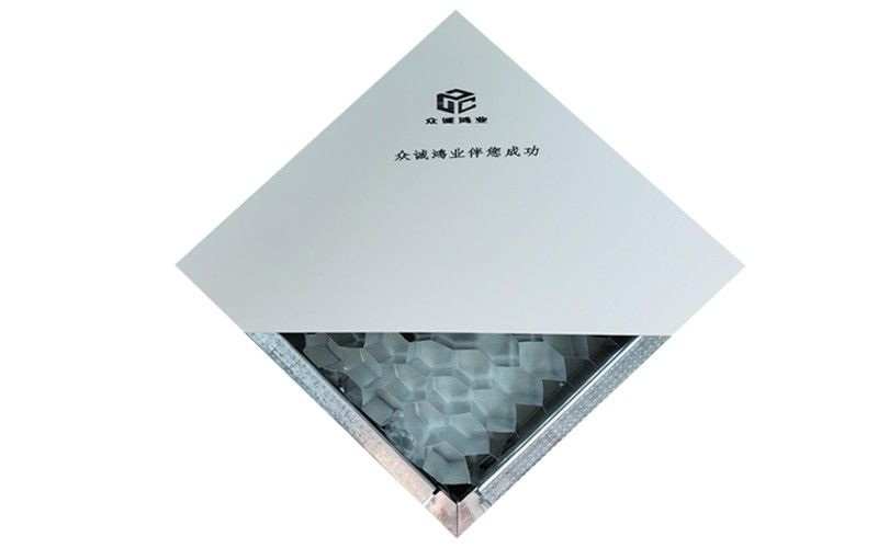 手工铝蜂窝净化板