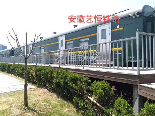 退役22型绿皮火车厢