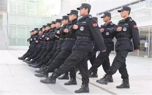 保安训练风采