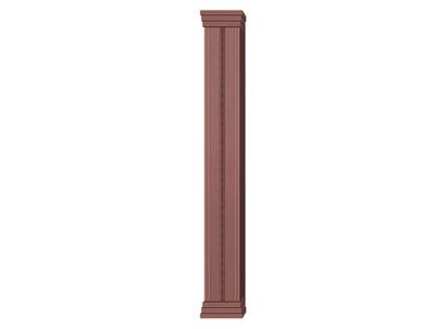 铜门柱生产
