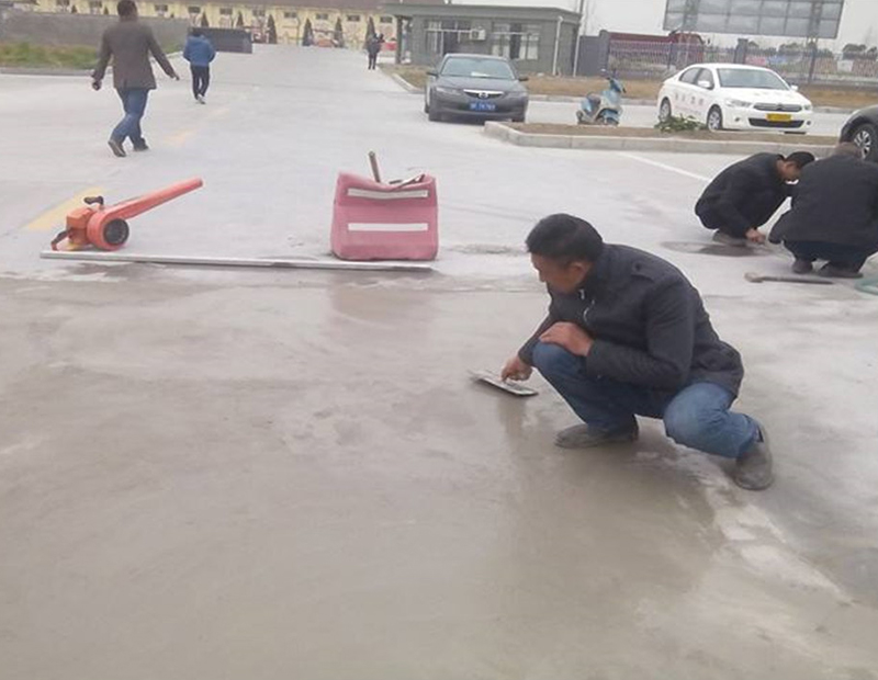 湖南厂区道路起皮起砂修补