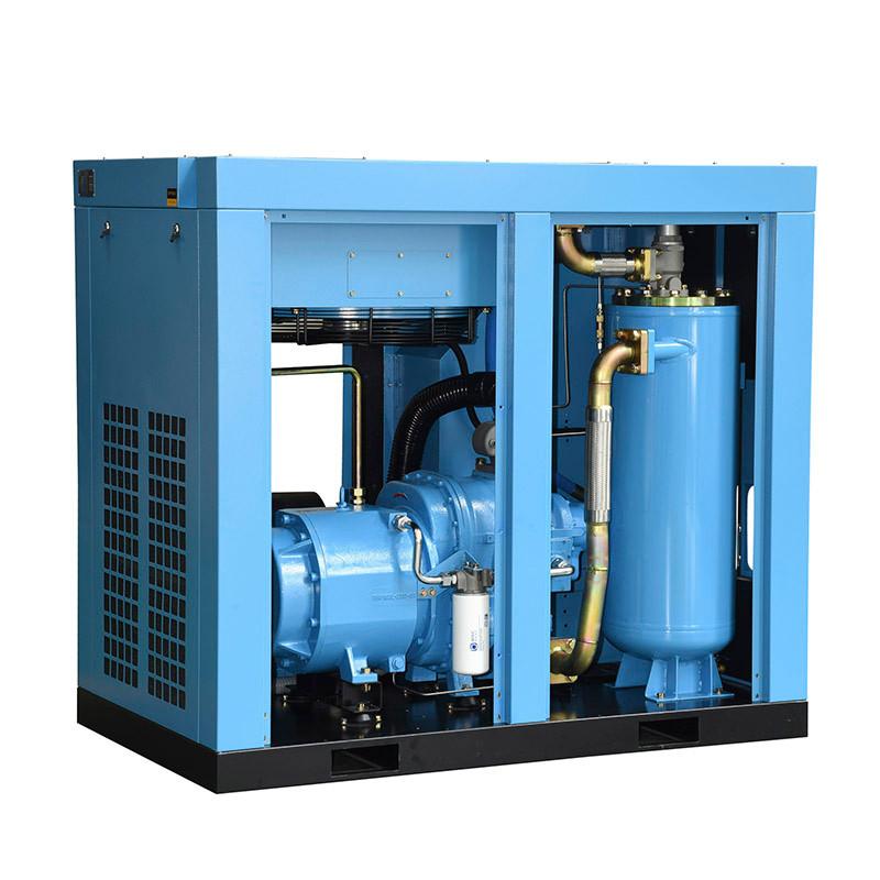 永磁变频空压机润滑油进水处理方法