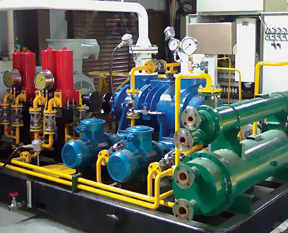 简单介绍两级压缩螺杆空压机工作原理