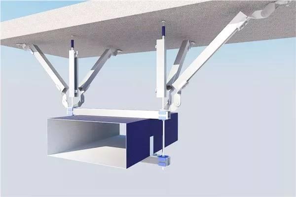 为让抗震支架有良好处置复杂受力在设计中需能满足这些条件