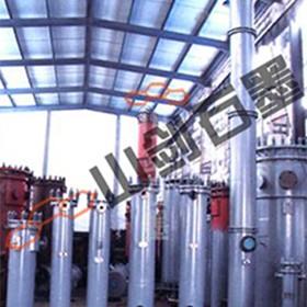 Hydrochloric acid desorption and HCI unit