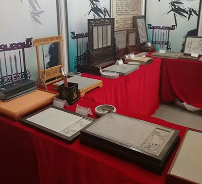 练字台砖文化展示