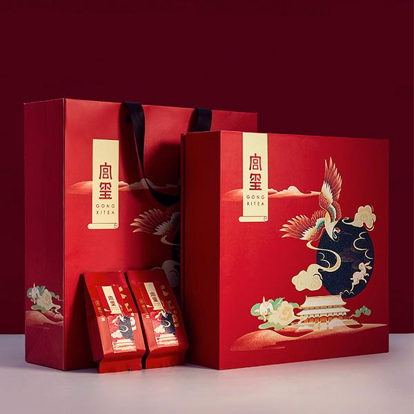 礼品包装盒设计方案怎么才能维持传统式设计风格?