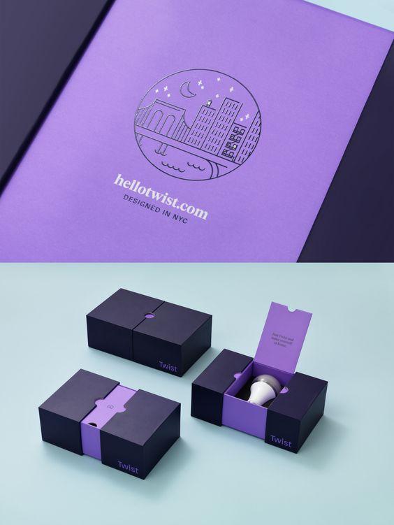 智能灯泡包装盒