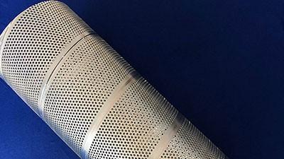 螺旋冲孔焊管规格