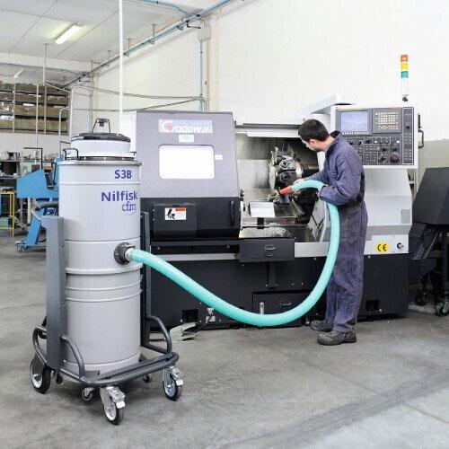 机械加工场所清洁解决方案