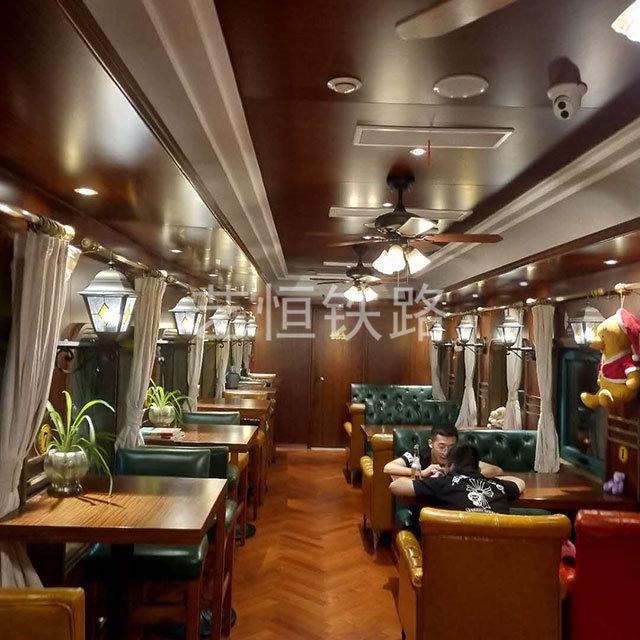 绿皮火车餐厅