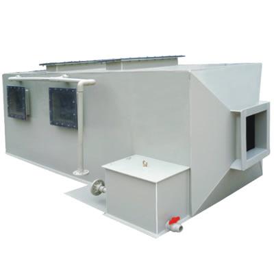 PP卧式方形酸雾净化塔 Φ650~Φ3500