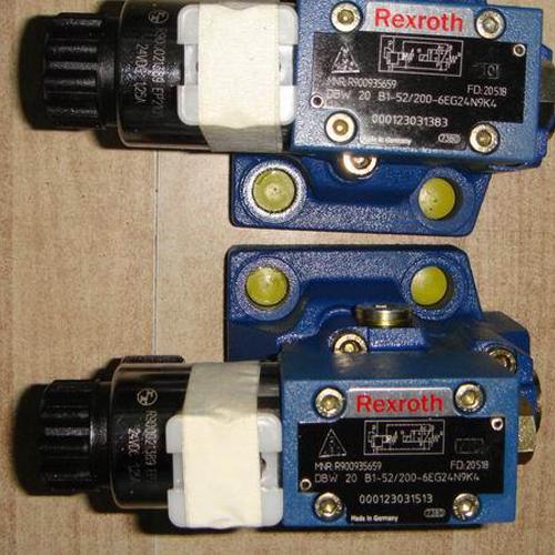 德国力士乐液压阀型号:DBW 20 B1-52200-6EG24N9K4