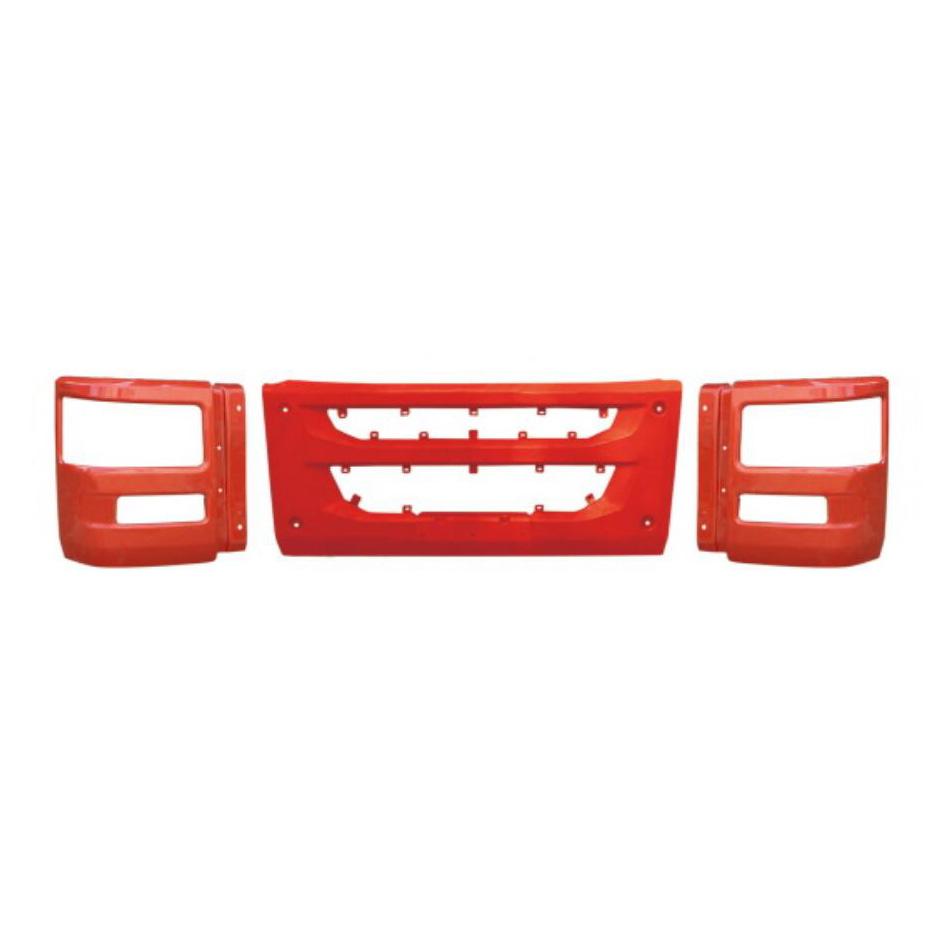 解放天V(E18)保险杠中节-大灯框.