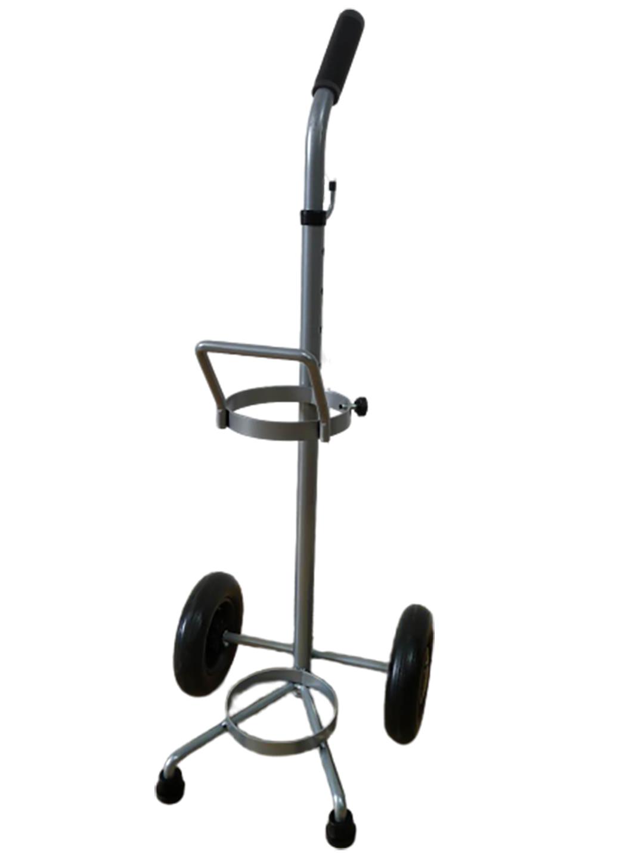环柄氧气瓶小推车5L便携家用医用