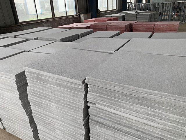 仿石材砖工厂环境