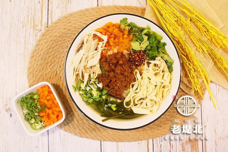 老堤北川香鸡丝米线