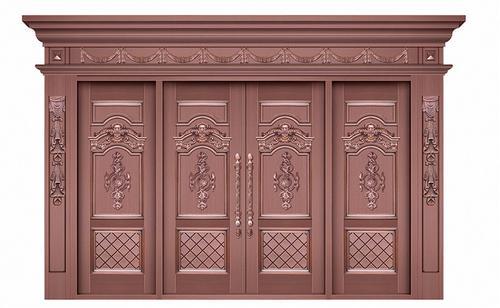 铜门价格厂家告诉你铜门的注意事项和维护