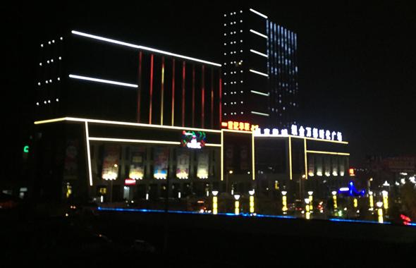 城市楼体亮化