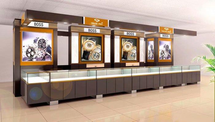 贵州珠宝柜在设计和制作中的要点