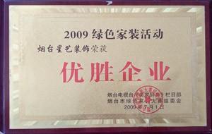 2009年优胜企业