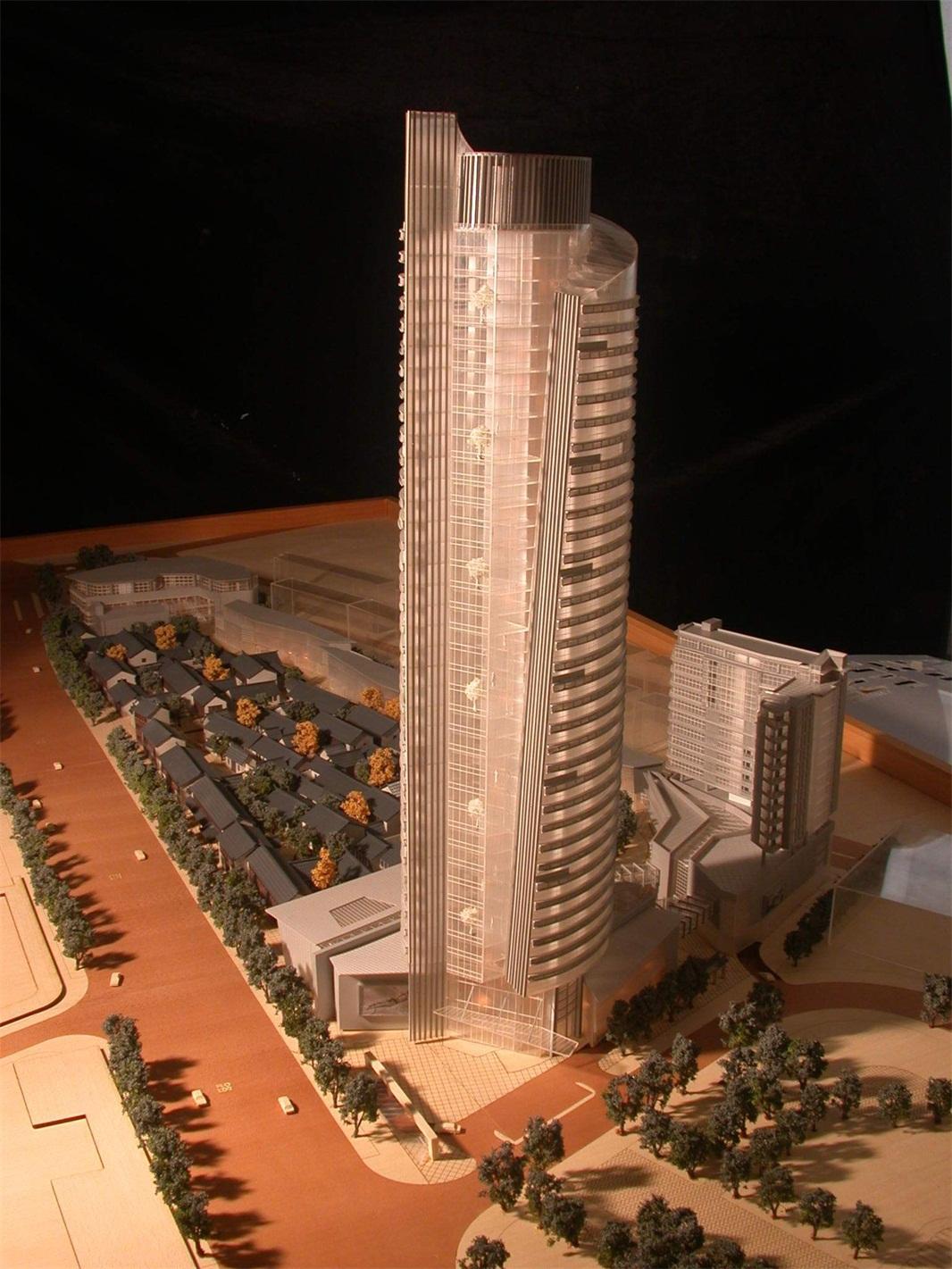 写字楼酒店模型1