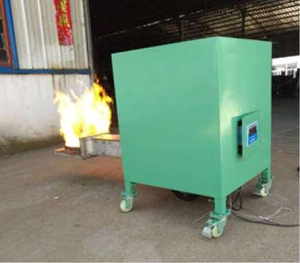 颗粒燃烧机的燃烧过程分析