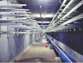 管廊地铁支架告诉你支吊架在地铁工程中的运用