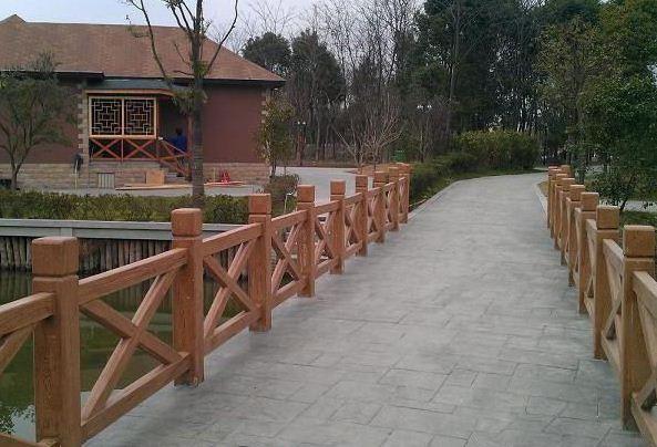 仿木护栏在各个行业中的应用